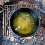bring broth to a boil.