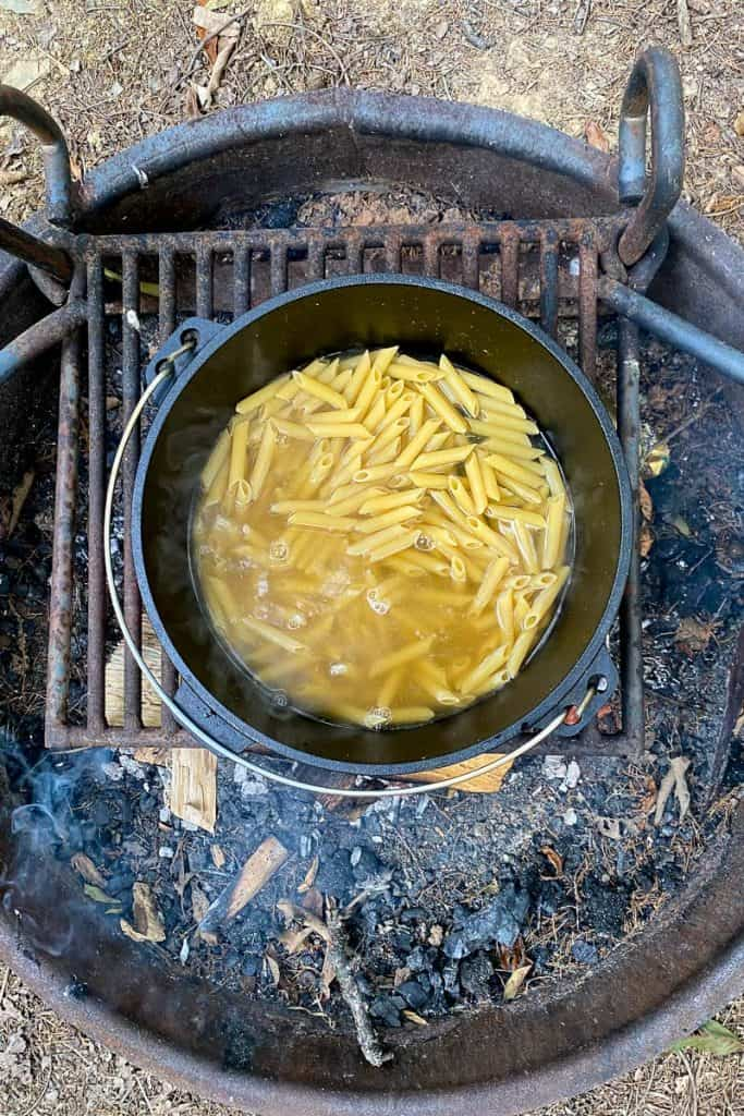 Add Pasta to the Boiling Liquid