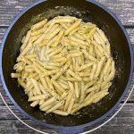 Add Pesto + Nutritional Yeast to Pasta