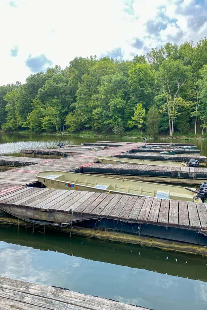 Kincaid Lake Boat Dock