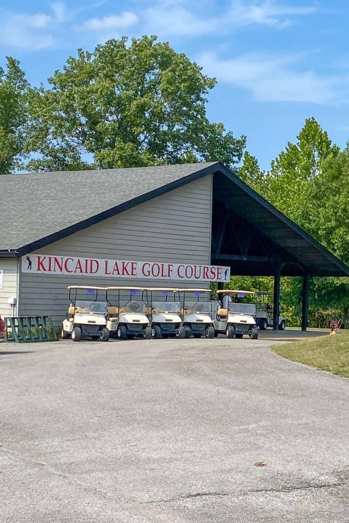 Kincaid Lake Golf Course Office