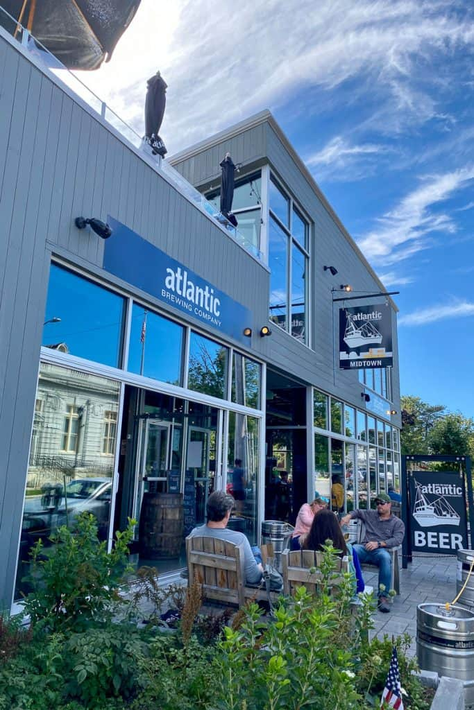 Atlantic Brewing Company Storefront, one of the things to do near Acadia