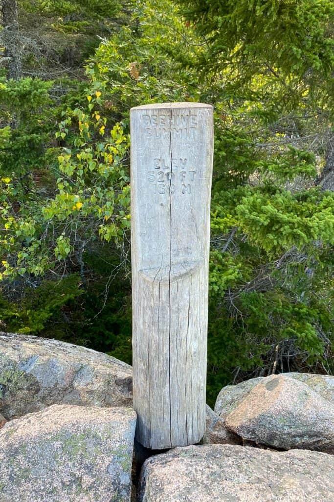 Beehive Trail Summit.