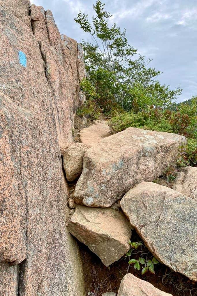 Rock Scramble on South Bubble Mountain