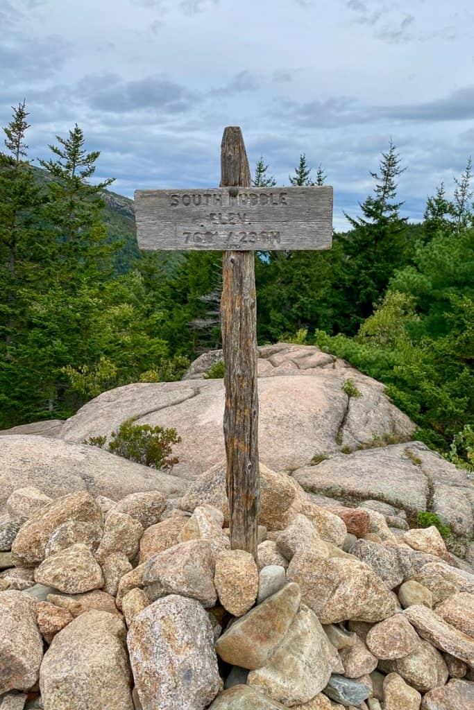South Bubble Mountain Summit.