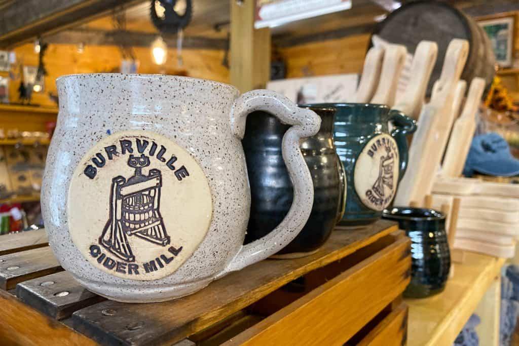 Burrville Cider Mill Store.