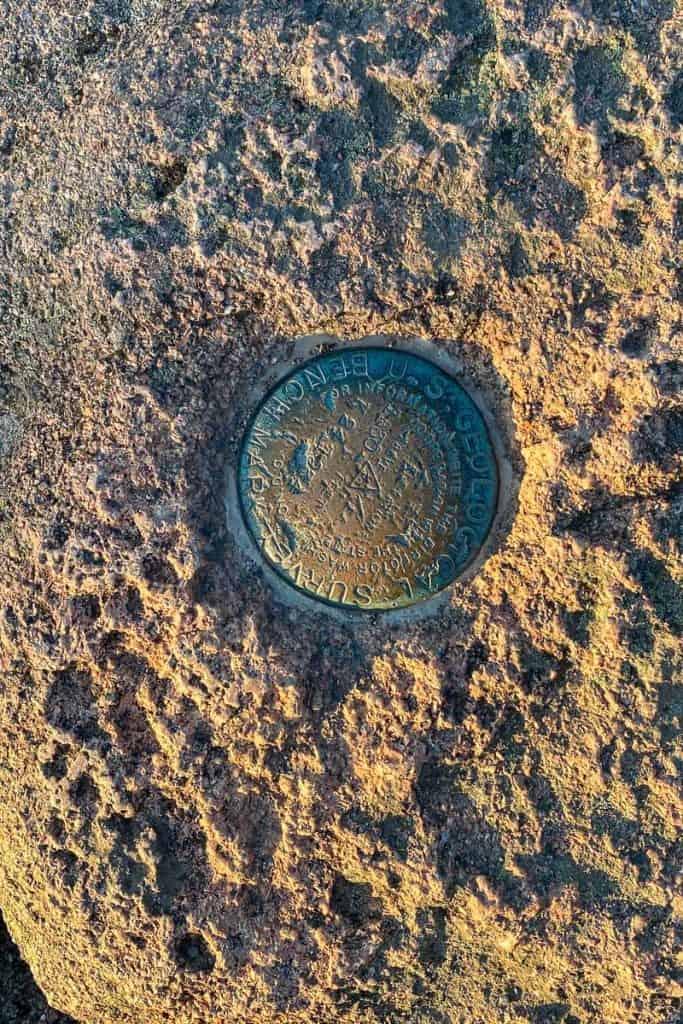 Cadillac Mountain Summit Elevation Geotag.