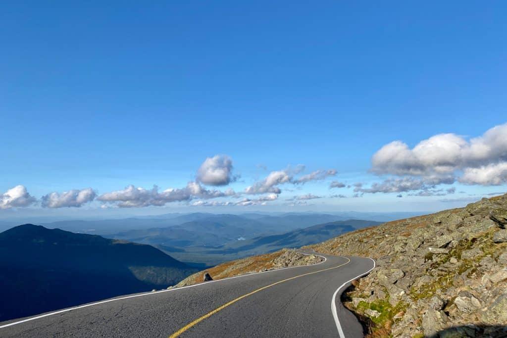 Drive up Mt Washington Auto Rd.