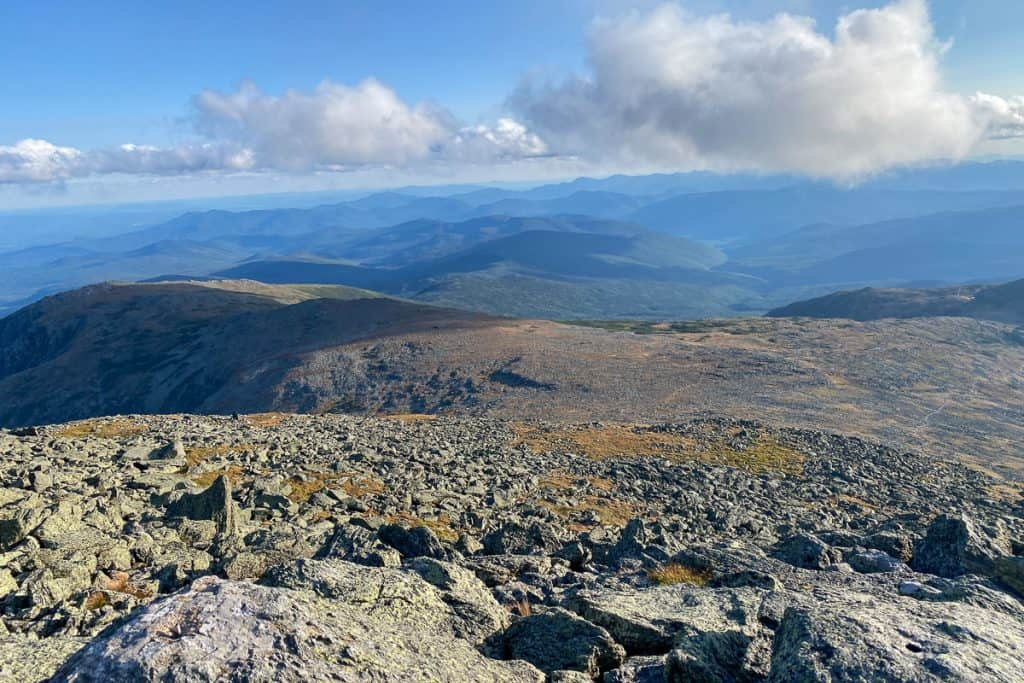 View from Mount Washington Summit.