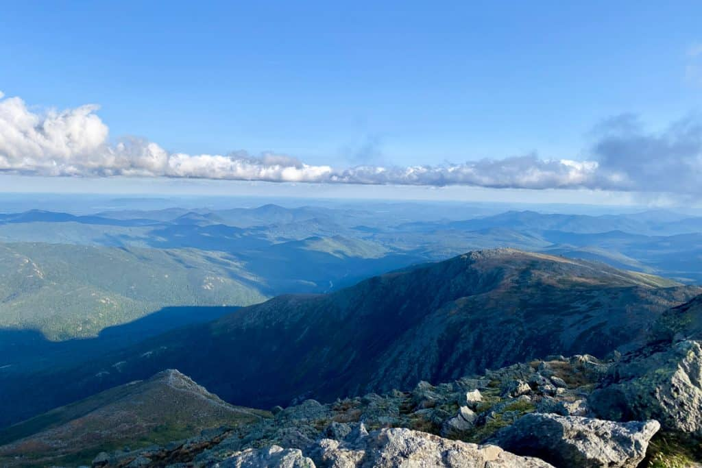 View from Mount Washington.