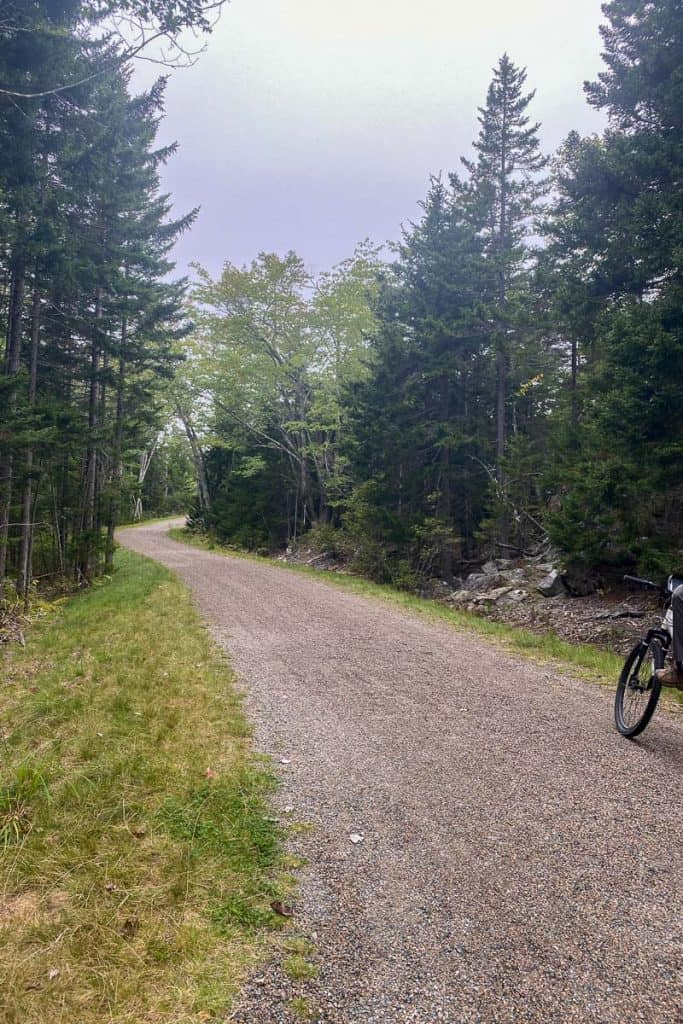 Schoodic Point Bike Path.