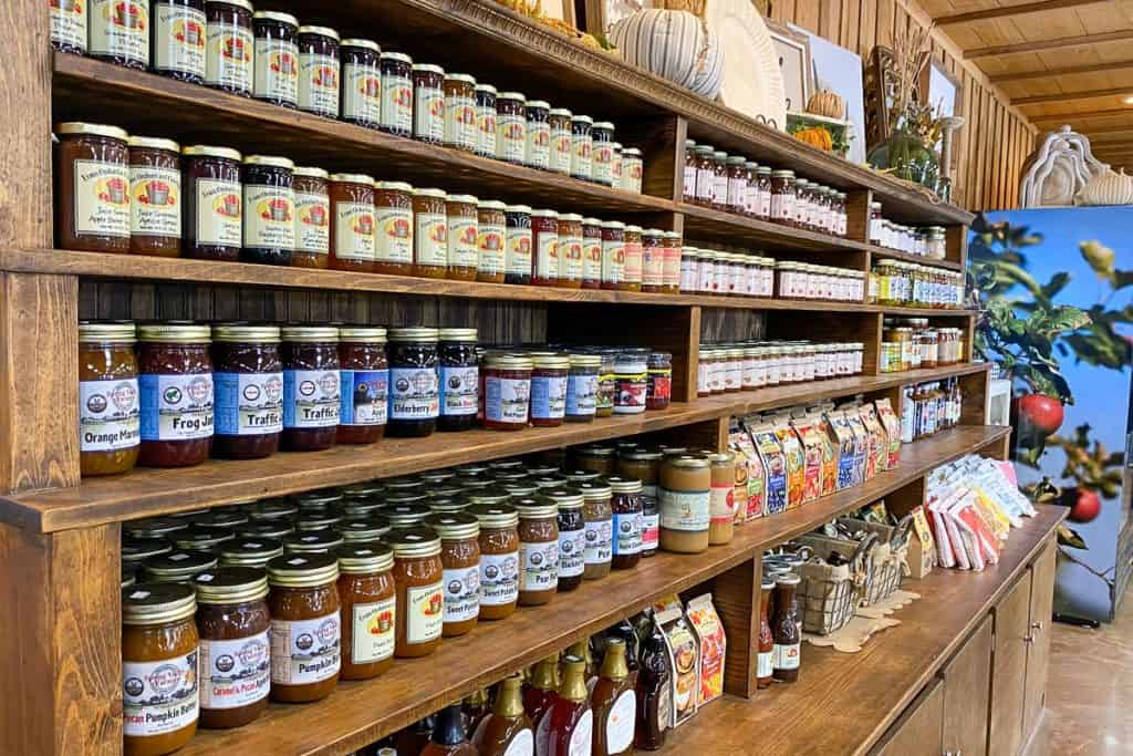 Local Jams, Honeys + Fruit Butter.
